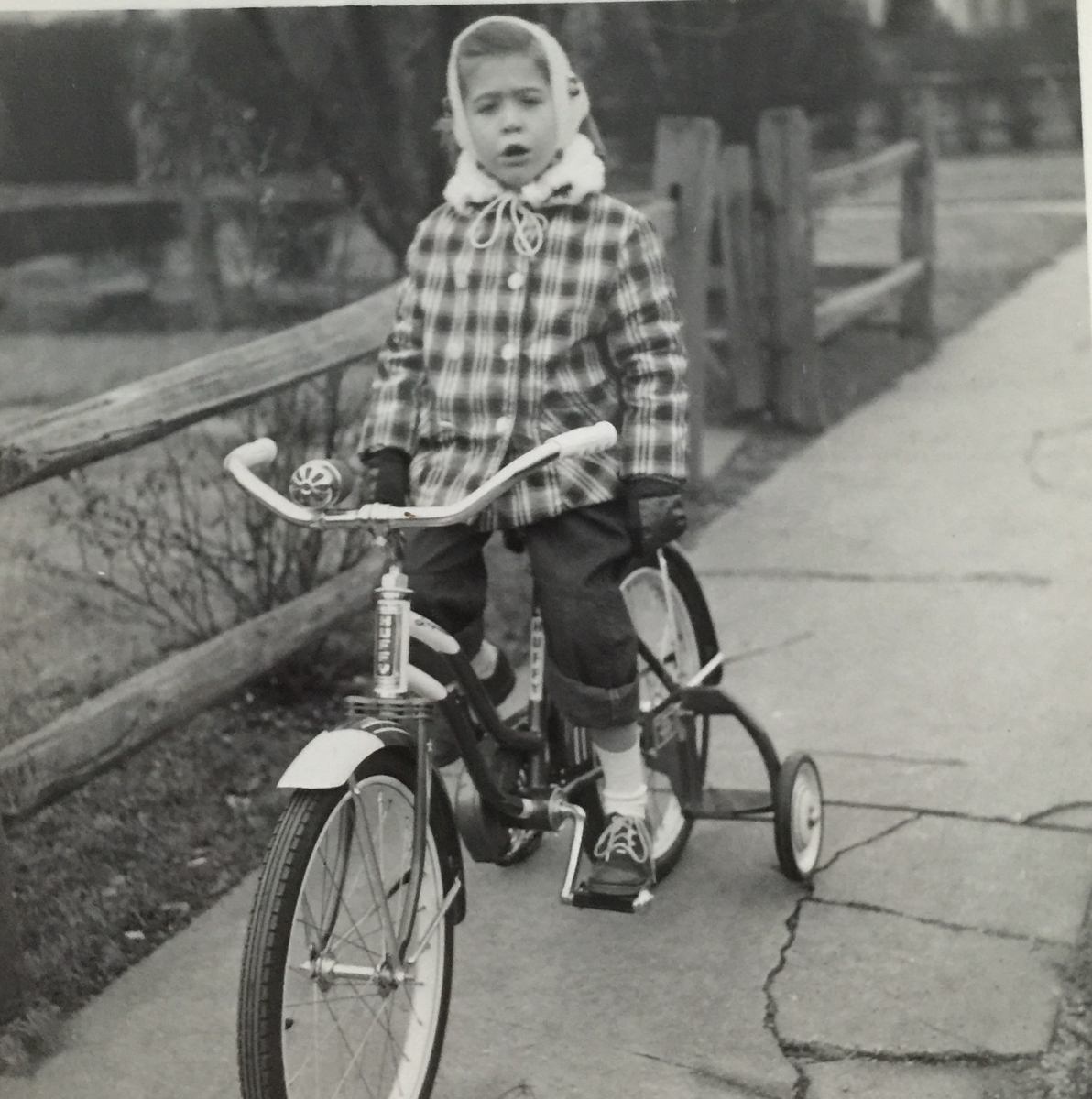 alice cahn's first bike