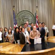 Hawaii SRTS Bill signing