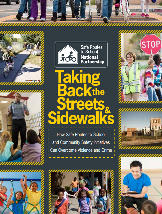 report cover : Taking Back the Streets and Sidewalks